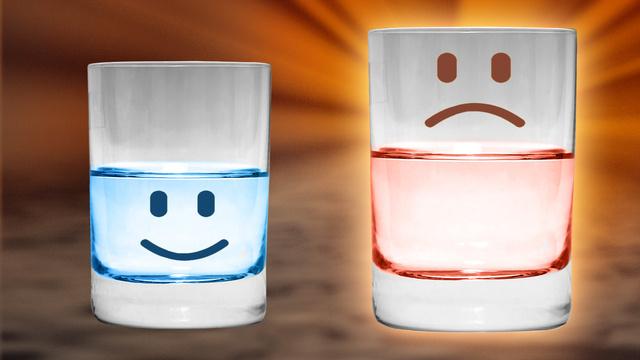Il bicchiere inesistente diWoody