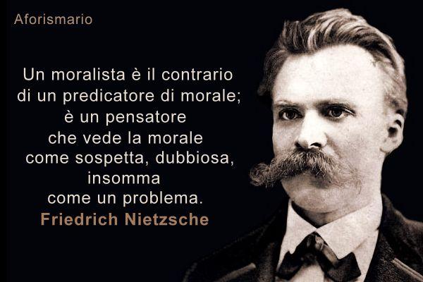 Nietzsche, filosofo omoralista?